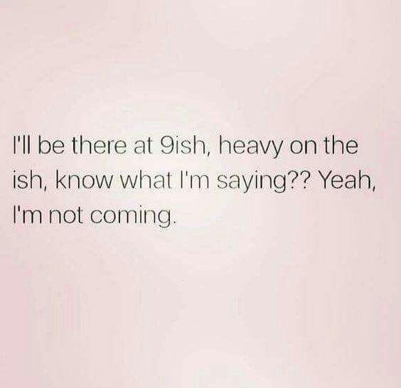Me every weekend. Anxiety sucks