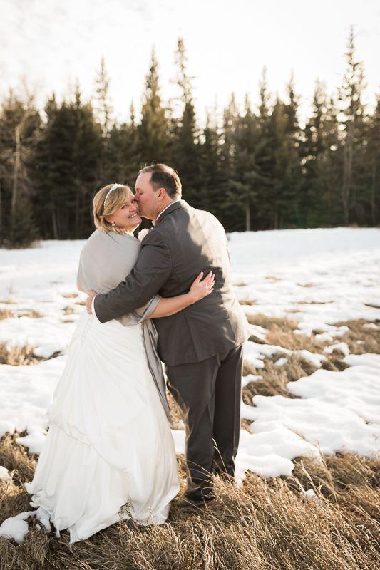 Calgary Winter Wedding   Deanna Rachel Photography