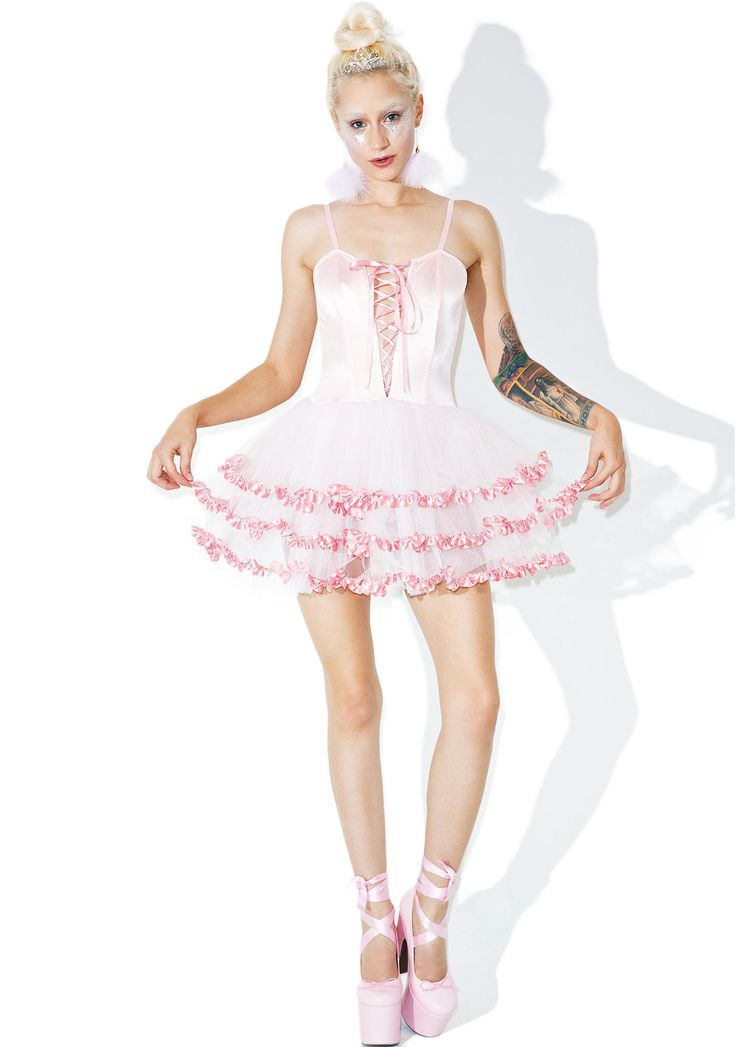 Development baby doll dress in white.