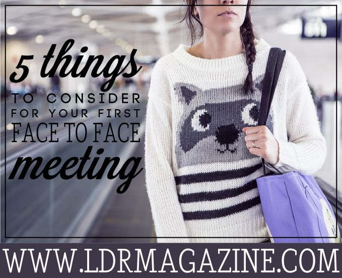 Online dating long distance meeting