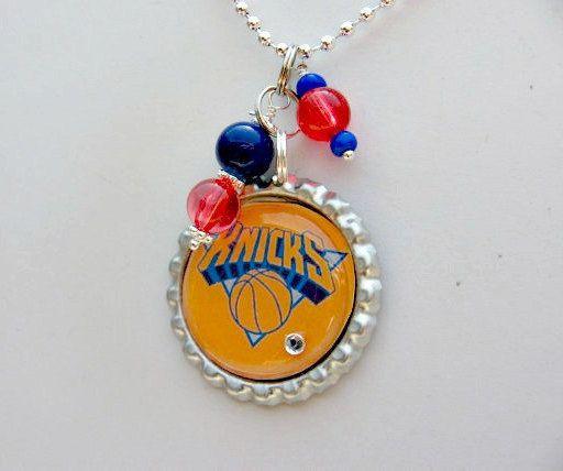 New York Knicks Basketball Necklace NY Knicks New York