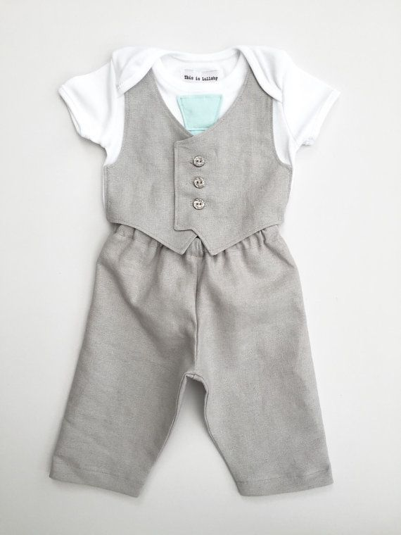 Hey, I found this really awesome Etsy listing at https://www.etsy.com/listing/195949938/baby-boy-clothing-newborn-boy-suit  Baby boy grey suit