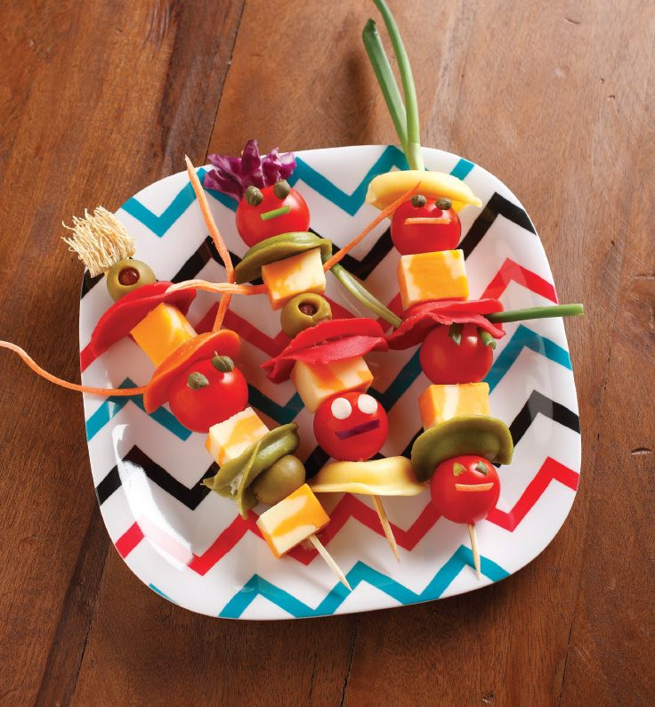 silly sea creatures with food   Silly Sea Creatures {recipe} and 'Noodlemania!' cookbook Giveaway!