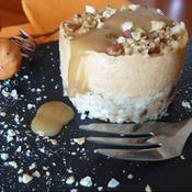 Cheesecake à la courge, crème de marrons - une recette Dessert - Cuisine