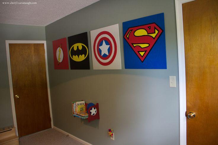 Beautiful Superhero Wall Art