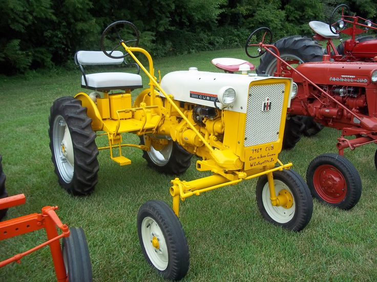 Ih Garden Tractors : Best images about cub cadet tractors on pinterest