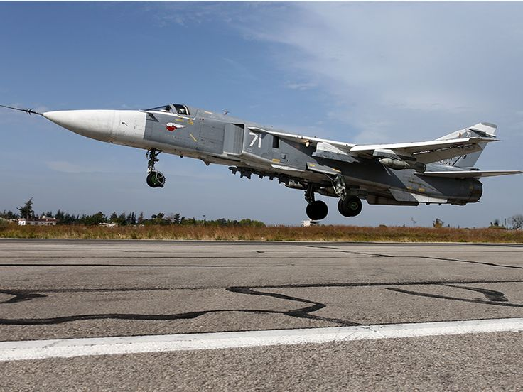 These are the 10 types of Russian military aircraft known to be stationed in Syria