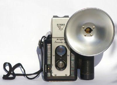 Chocolate Camera: Vintage Argus 75 Twin Lens