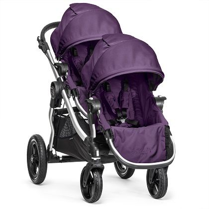 $500, pishposhbaby.com Most Leg Room Tall parents usually equals tall kids, so the City Select Double is a win-win for everyone. Since the second seat attaches over the front wheels, your foot won't kick the back seat and your tall toddler riding shotgun gets more leg room.   - BestProducts.com