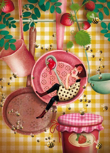 French illustrator Marie Desbons - such cute work