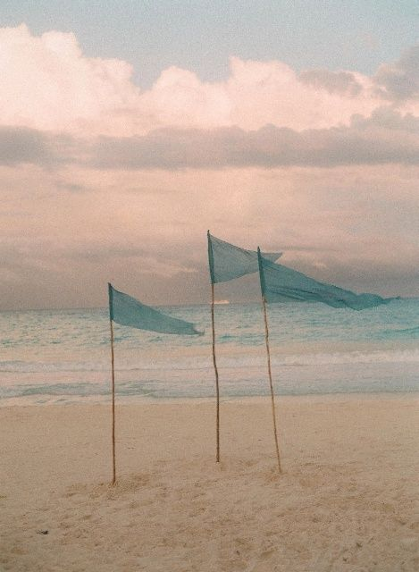 .: At The Beaches, Idea, Flags, Color, Sea Breeze, Beaches Ceremony, Summer Breeze, Beaches Wedding, The Sea