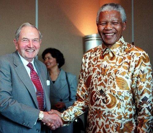 Nelson Mandela  et l'alliance avec le Nouvel Ordre Mondial
