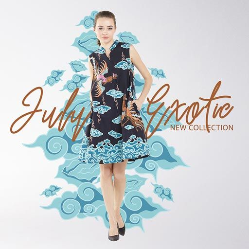 Batik Dress from Batiquebylinda JulyExotic Collection  #batiquebylinda @lindasudarsono #batiquebylindaindonesia #batikindonesia #batikhandmade #batiktulis #batikcirebon #batiklasem #batikjogja #batique2017collection #BatiqueJulyExotic #HelloJuly #JulyExotic #fashion #fashionista #batik