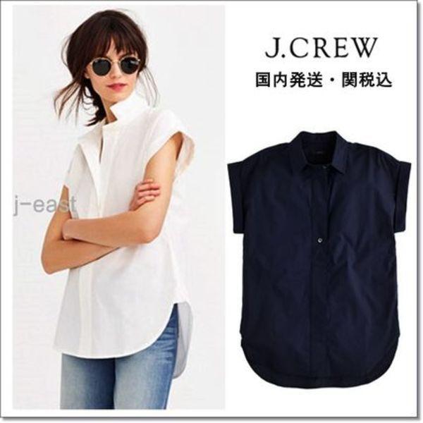 【国内発送】J.CREW ポップオーバーシャツ 2色 関税込