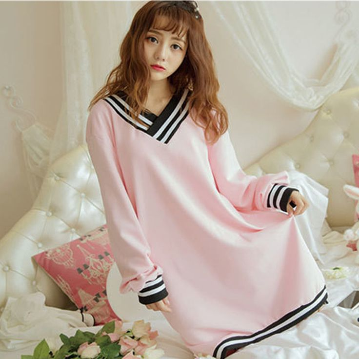 Like and Share if you want this  Sexy Nightgowns Woman Plus Size Winter Cotton Sleepwear Dress Long Sleeve V Neck Loose Ladies Night Dress Home Pink Home Dress     Tag a friend who would love this!     FREE Shipping Worldwide     Buy one here---> http://onlineshopping.fashiongarments.biz/products/sexy-nightgowns-woman-plus-size-winter-cotton-sleepwear-dress-long-sleeve-v-neck-loose-ladies-night-dress-home-pink-home-dress/
