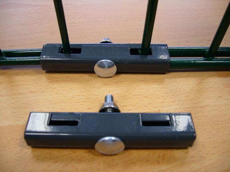 Gittermattenverbinder Paar U-Form