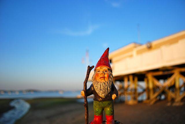 the boston garden gnome: wollaston beach - low tide