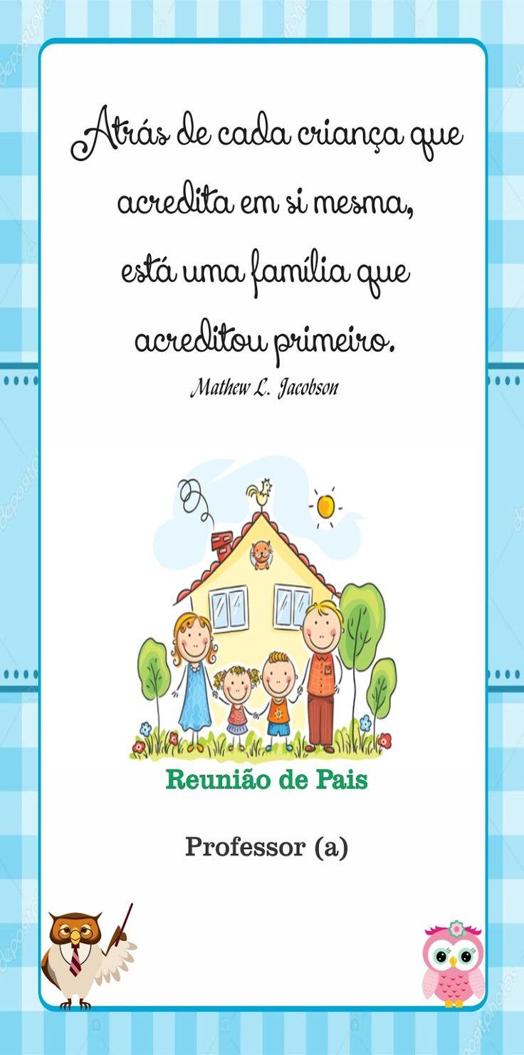 Fabuloso 60 best Reunião de pais images on Pinterest | Parents meeting  ZB35