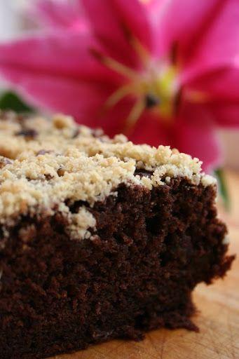 Ciasto czekoladowo-bananowe z kruszonką
