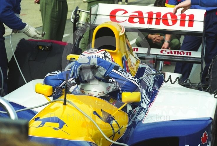 Nigel Mansell, Williams FW14B Pictures, Nigel Mansell, Williams FW14B ...