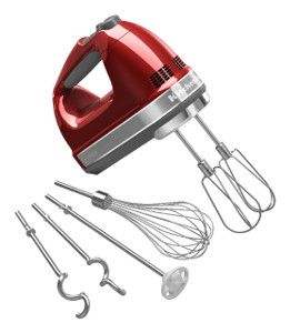 Enter to win a KitchenAid 9-Speed Hand Mixer in RecipeLion's latest giveaway contest!