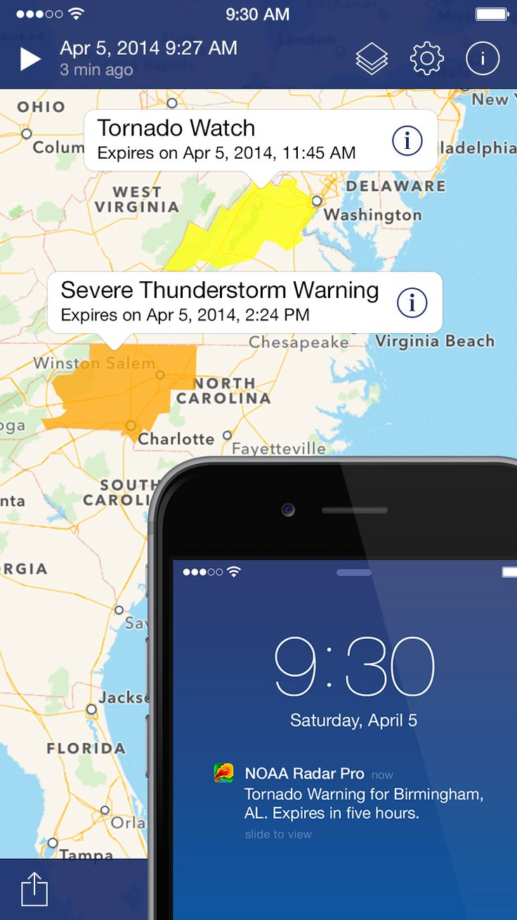 Get severe weather alerts, watches, warnings, advisories! Download on the App Store: https://itunes.apple.com/app/id749133301 #NOAARadarPro #radar #weatherradar #alerts #reports #severe #weather #forecast #tornado #hurricane #rain #wind #hazard #app #alert #advisory #warning