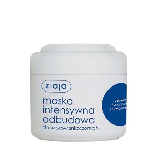 Ziaja, Intensywna Pielęgnacja Włosów, Maska do włosów `Intensywna odbudowa ceramidy` - cena, opinie, recenzja | KWC