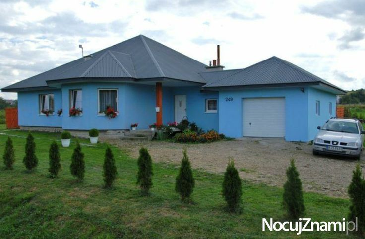 Błękitny Domek - NocujZnami.pl || Nocleg na wsi (Agroturystyka) || #agroturystyka #wieś #polska #poland || http://nocujznami.pl/noclegi/region/wies