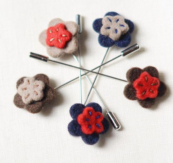 All five #flower #lapelpins!   #woolfelt #handmade #mnswr #dapperman #suitup #luxurious #etsygifts  #gentlemanstyle