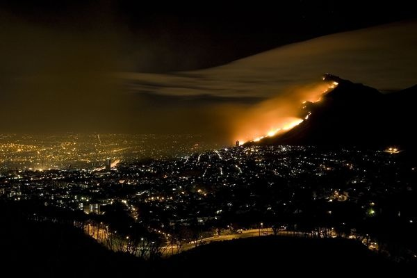 Wildfire, Table Mountain