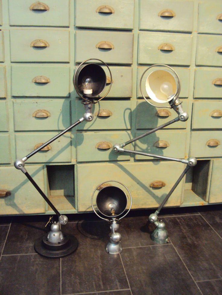 Originali lampade industriali Jielde. Disponibili applique,2 o 3 ...