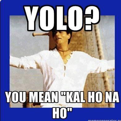 SRK, Kal Ho Naa Ho, I actually do this! #desi #asian #www.asianlol.com