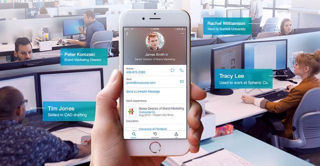 Linkedin Lookup : une appli pour créer un annuaire de contacts en ligne au sein des entreprises