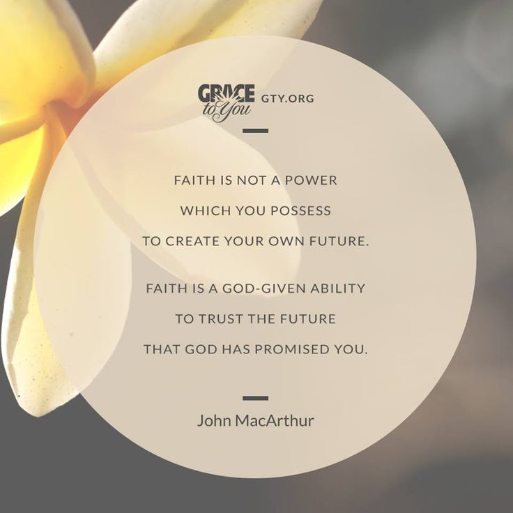 John MacArthur - Faith