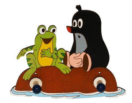 2 věšáček DoDo Krtek s žábou