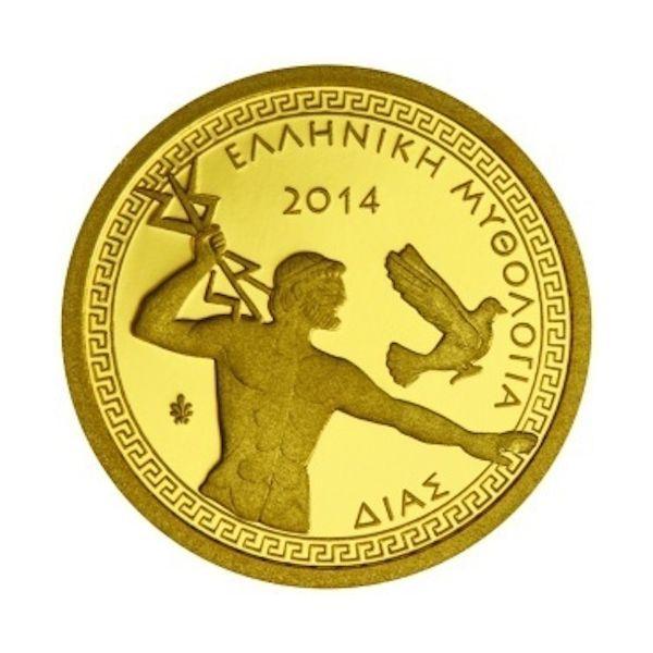 Συλλεκτικό Αναμνηστικό Νόμισμα,100 Ευρώ Ο «αστραφτερός» χρυσός του νομίσματος έρχεται και δένει σε απόλυτη αρμονία με την εικόνα του βασιλιά των Θεών της Αρχαίας Ελλάδας, του γιου του Κρόνου και Θεού του Κεραυνού ,του Δια. Ο «πατέρας ανθρώπων και Θεών» απεικονίζεται σε αυτό το συλλεκτικό χρυσό νόμισμα καθαρότητας 22 καρατίων , σε ένα πολύτιμο και επιβλητικό τελικό αποτέλεσμα. http://www.coinsclub.gr/zeus-dias-100-ellada-gold-2014.html #coinsclubgr #coins #νομίσματα…