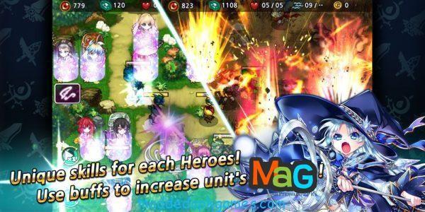 Fantasy Defense 2 Mod Apk 1.0.5 Unlimited Gold/SSEN Hack Android | Modded APK Games