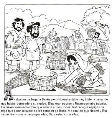 Image result for la historia de rut para niños de preescolar | Clip ...