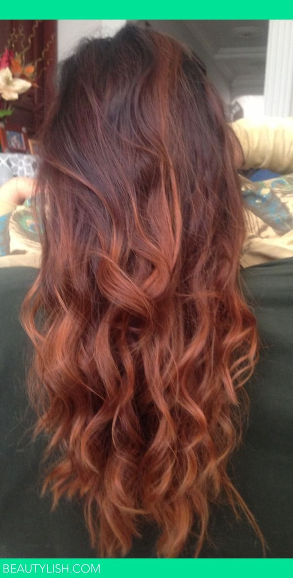 this is exactly what I want. ombre but not too drastic of a color change