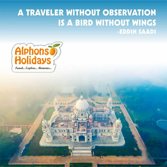 A traveler without observation is a bird without wings. - Moslim Eddin Saadi #Travel #travelquote #Quote