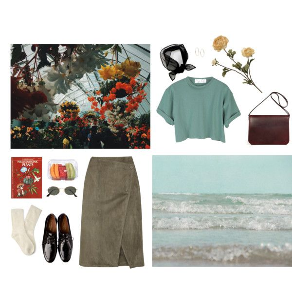 Untitled #105 by cizinec on Polyvore featuring StyleNanda, Jason Wu, Forever 21, Maison Margiela, Michael Kors, Ray-Ban, WALL and Anne Thomas