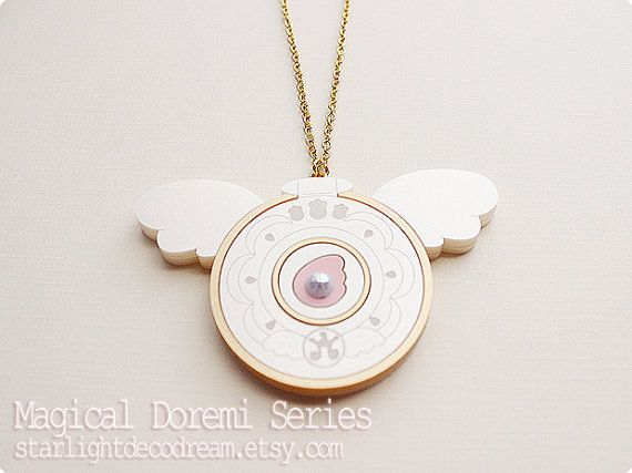 MADE to ORDER Hana's Compact Necklace from by StarlightDecoDream