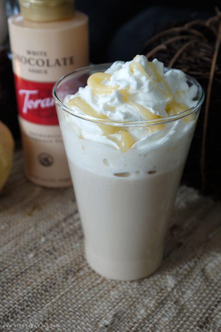 Homemade White Chocolate Mocha Syrup   Crazy Homemade