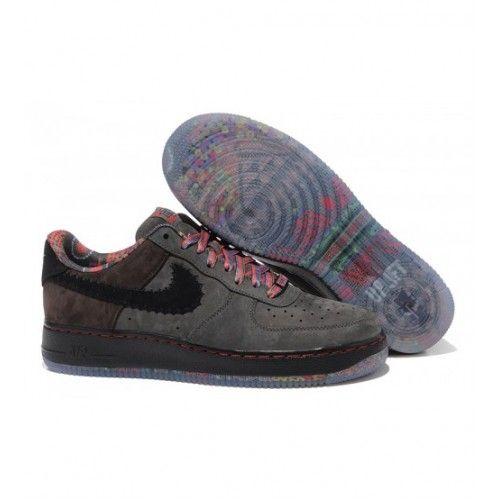 Nike Pánské - Koupit Nike Air Force 1 Low Pánské Běžecké Boty Černá Červené 0302