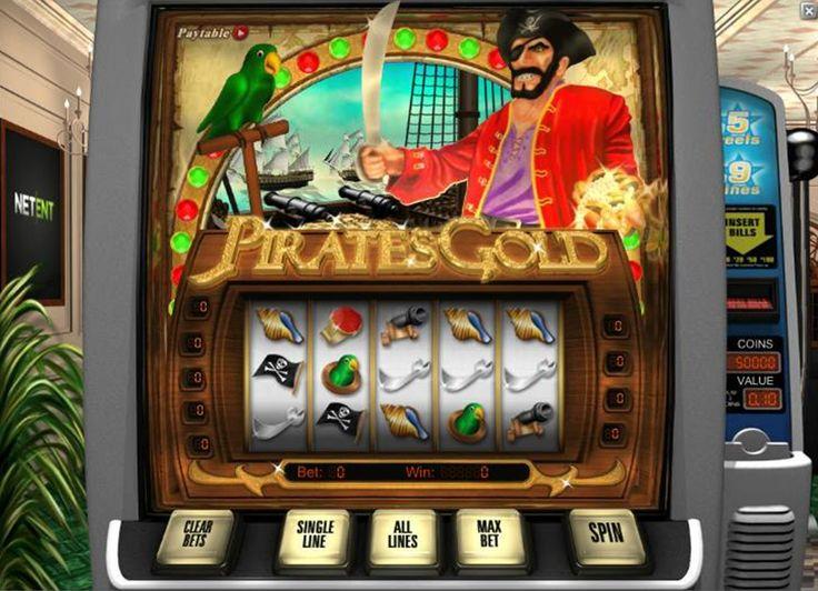 Plongez dans les aventures passionnants des pirates avec la compagnie NetEnt! Leur slot Pirates Gold entraîne de nombreux joueurs par des graphismes attirants et des jeux de bonus où vous devrez vaincre le bateau de l'ennemi et frapper l'adversaire sur une île fascinante. Cherchez les trésors innombrables et que la fortune vous sourie!