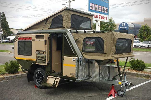Conqueror UEV-440 Camper Trailer 3