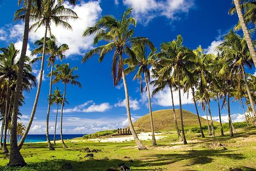 Hermosa, Playa Anakena