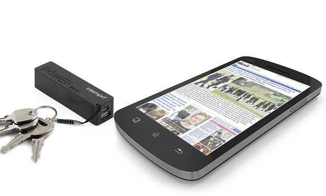 Free Portable mobile phone charger for every reader – RRP £19.99
