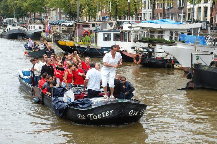 Grachtenparade Groningen 2014. Foto: Marco in 't Veldt