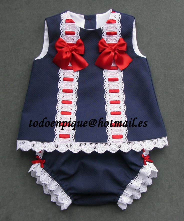 Toscana marine and red two set, in the on line shop http://todoenpiqueparabebe.com/es/